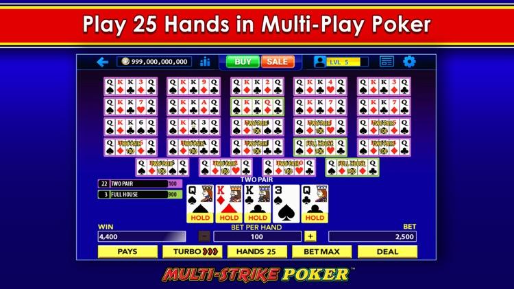 Multi-Strike Video Poker screenshot-7