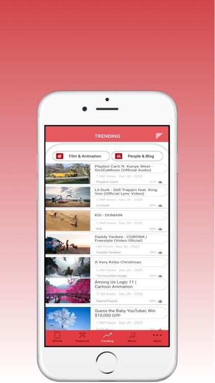 MX Tube:Stream Ply Dailymotion screenshot-4