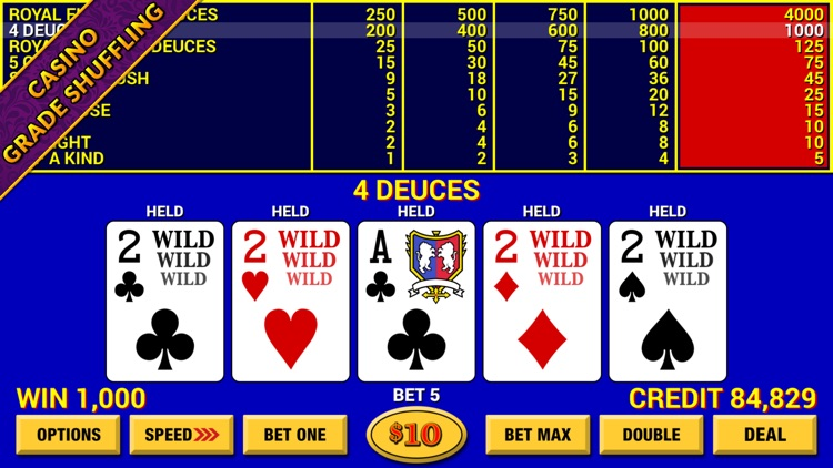 Video Poker Lounge screenshot-2