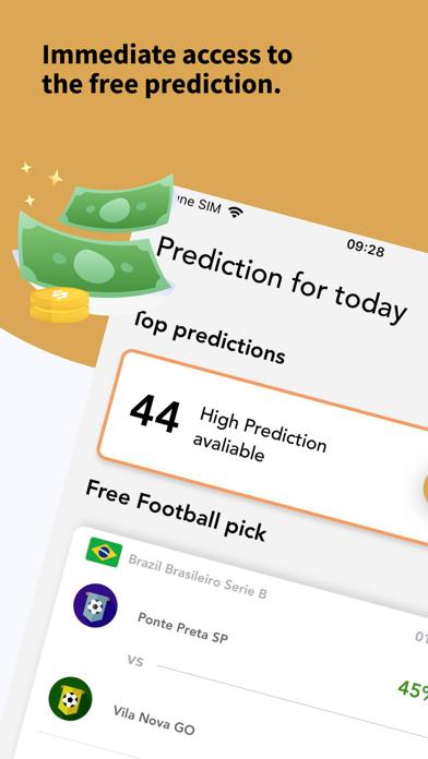 Robot Tipster-Sport prediction screenshot one