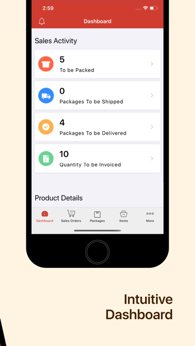 Inventory app - Zoho screenshot two