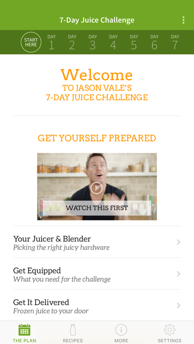 Screenshot for Jason's 7-Day Juice Challenge in Egypt App Store