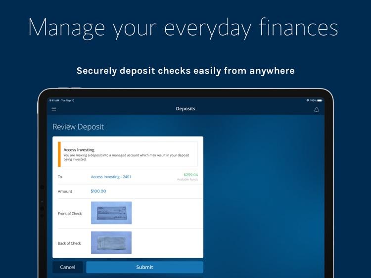 Morgan Stanley Wealth – Tablet screenshot-3