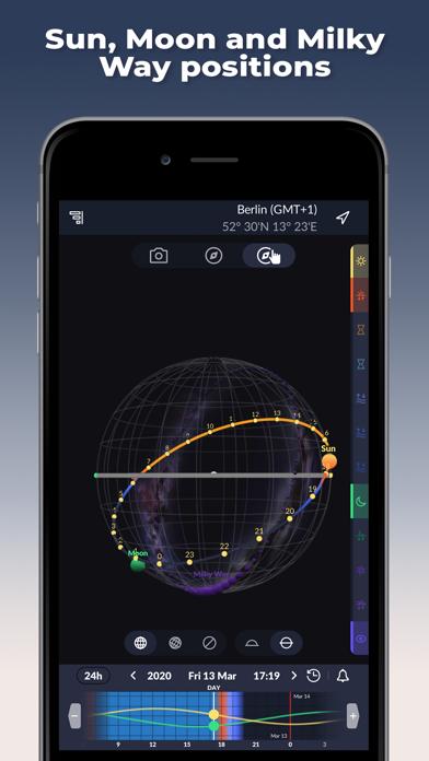 Ephemeris: Sun & Moon Calendar screenshot 3