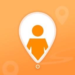 行踪-查找我的朋友手机定位找人软件
