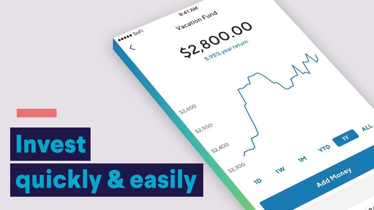 SoFi: Mobile Finance & Money screenshot-3