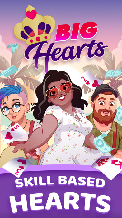 Big Hearts - Card Game screenshot 1