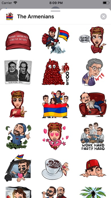 The Armenians app image