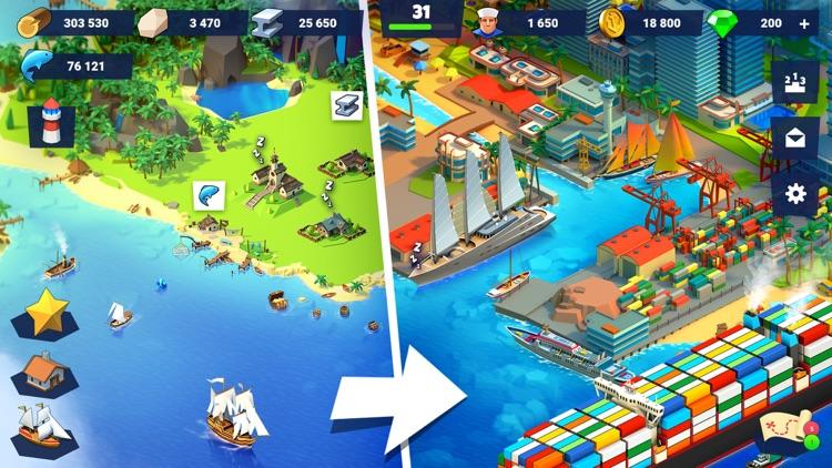 SeaPort: Ship Transport Tycoon screenshot-0