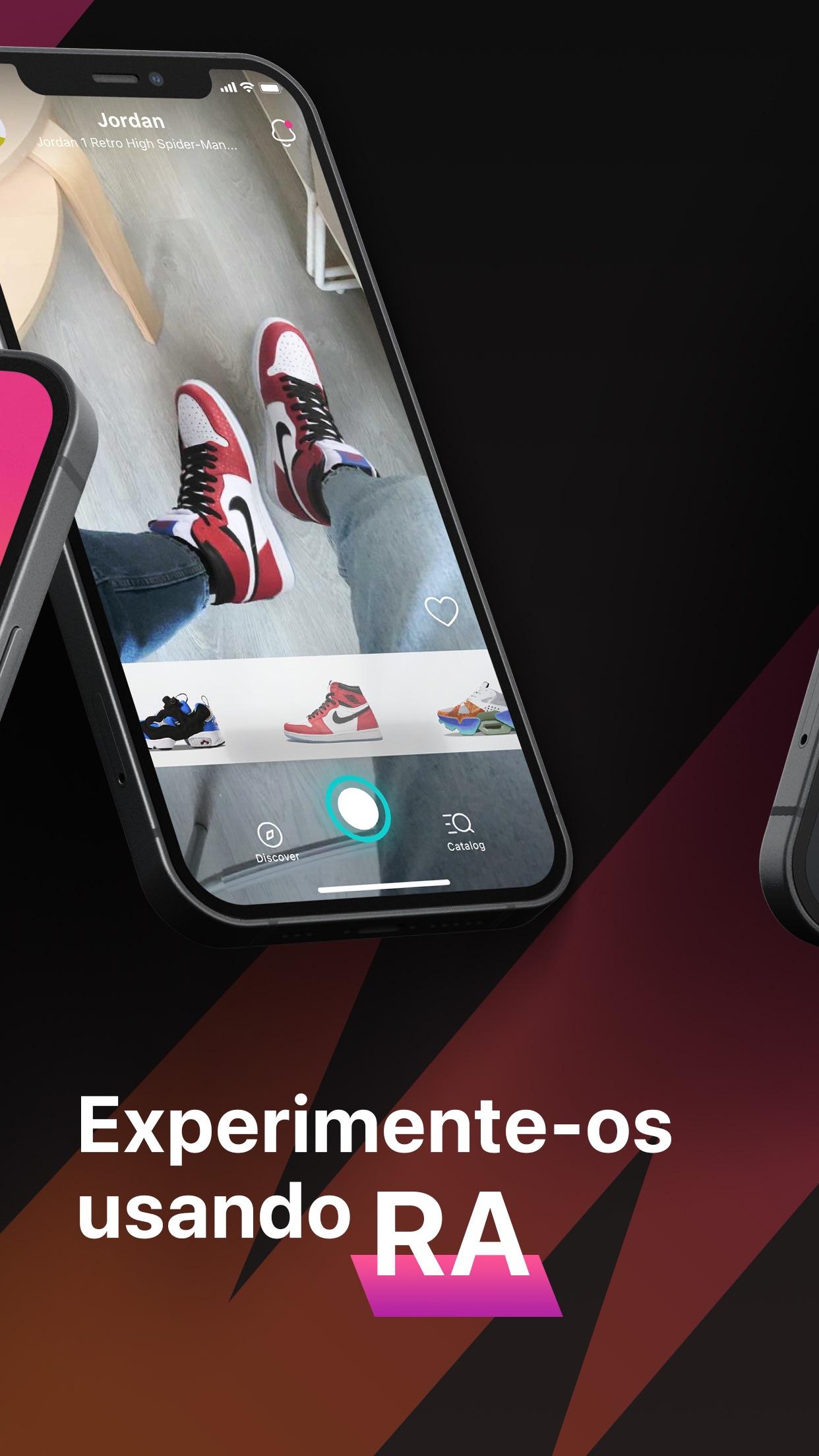 Screenshot do app Wanna Kicks