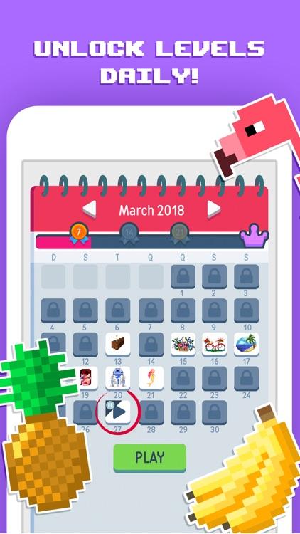 Pixelicious - Number Coloring screenshot-3