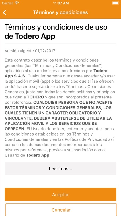 Todero App screenshot-0