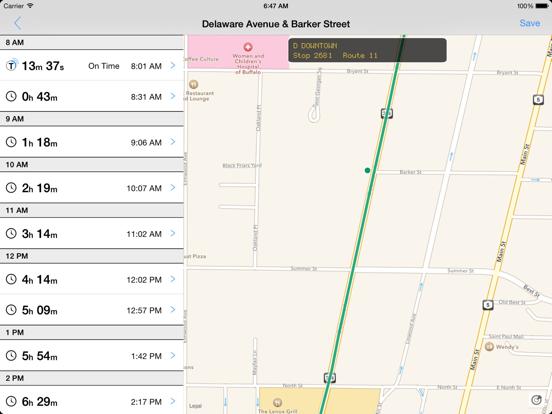 Transit Tracker - Buffalo-ipad-0