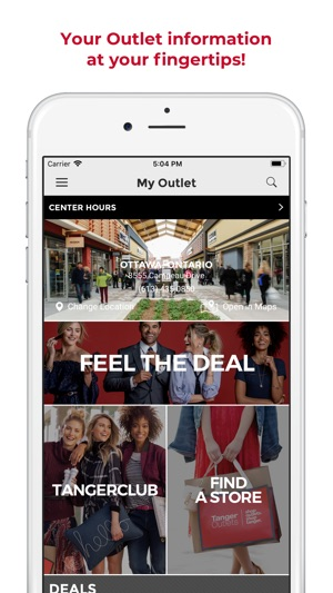 Tanger Outlets on the App Store