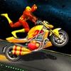 スーパーヒーローGTバイクレーシングスタントアイコン