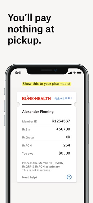 Blink Health Lowest Rx Prices On The App Store