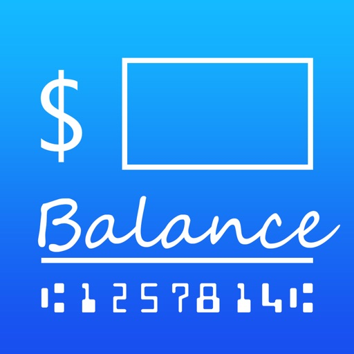 Balance My Checkbook iOS App