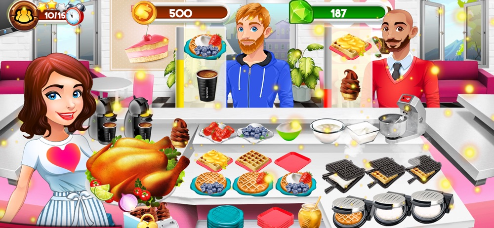 Cooking Kitchen Chef Food Game Cheat Codes