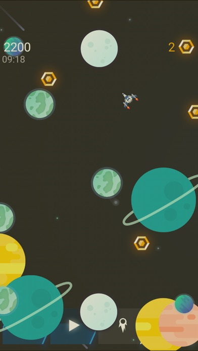 Screenshot 1 Space Fall - M