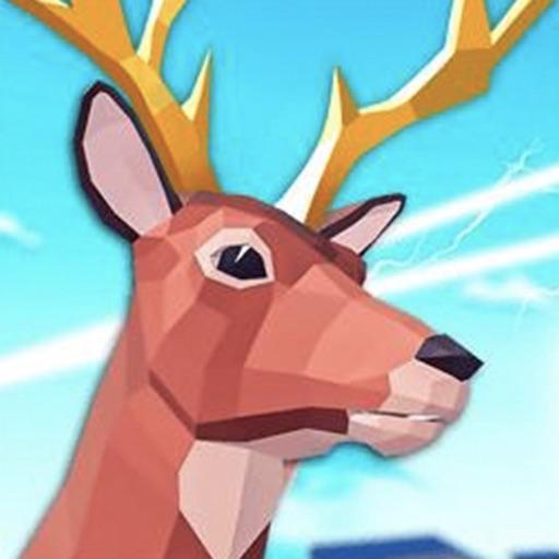 非常普通的沙雕鹿