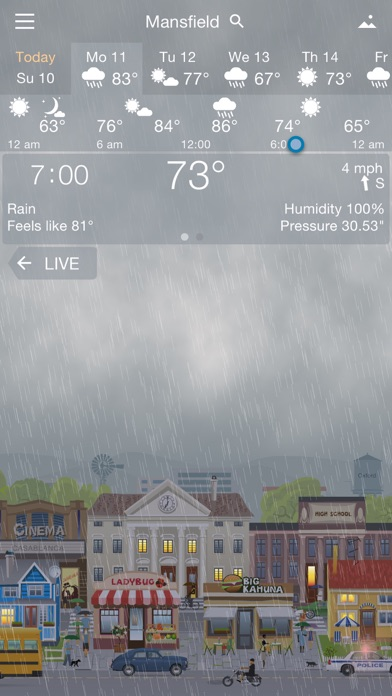 Screenshot #8 for YoWindow Weather