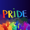 salma akter - Gay Pride LGBT Stickers Quotes  artwork