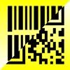 連続バーコード/QRコードスキャナアイコン
