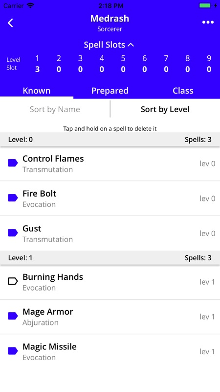 Spell List D&D 5e - Online Game Hack and Cheat | TryCheat com