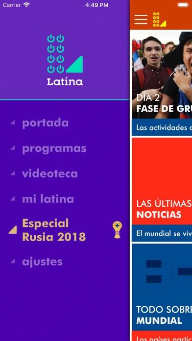 Screenshot for Latina in Peru App Store