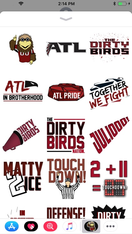 Dirty Birds - Sticker Pack screenshot-1