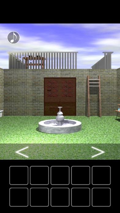 噴水のある部屋からの脱出紹介画像2