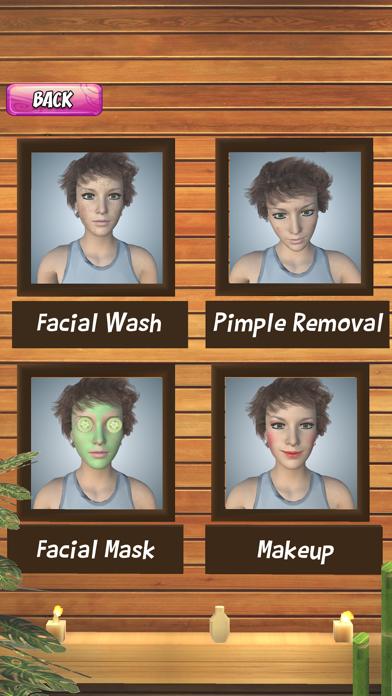 Girl Makeup Salon Spa Games 3D screenshot four