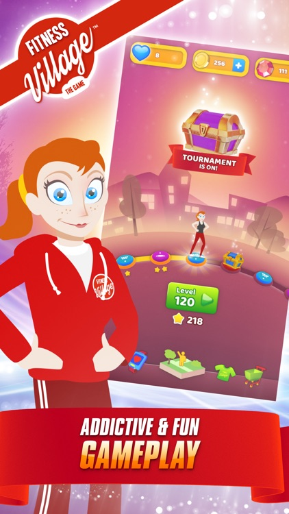 Fitness Village - The Game screenshot-0