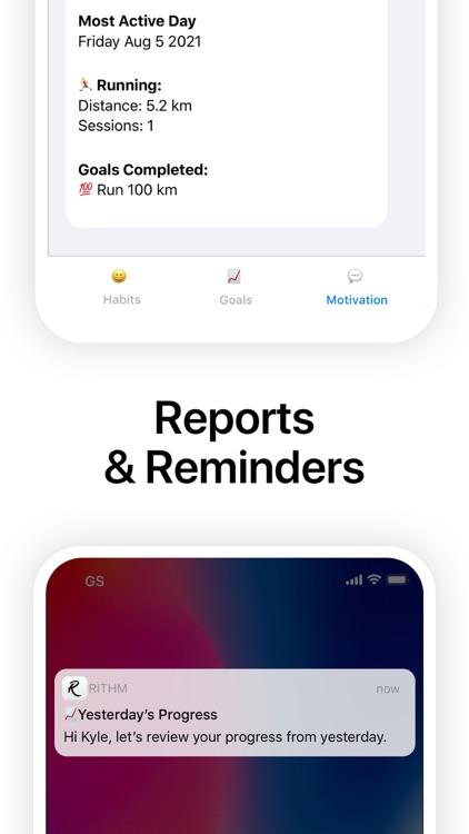 Rithm: Habit Tracking Machine screenshot-4