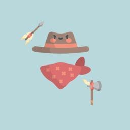 Wild West Stickers: Yeehaw!
