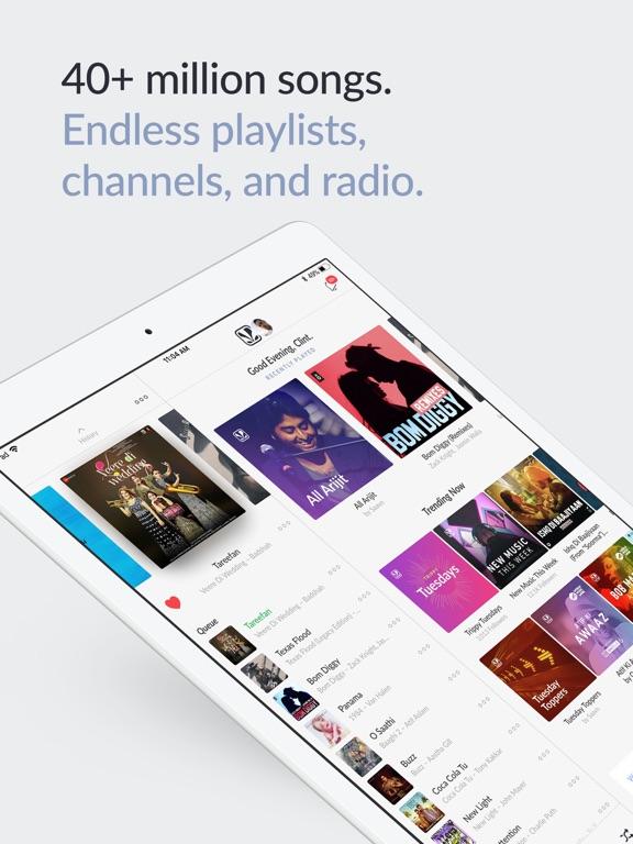 Saavn Music & Radio Screenshots