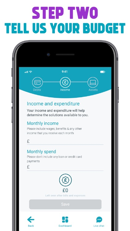 Freeze Debt: Solution & Advice screenshot-4