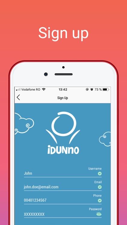 IDUNNO - Ask, vote, decide