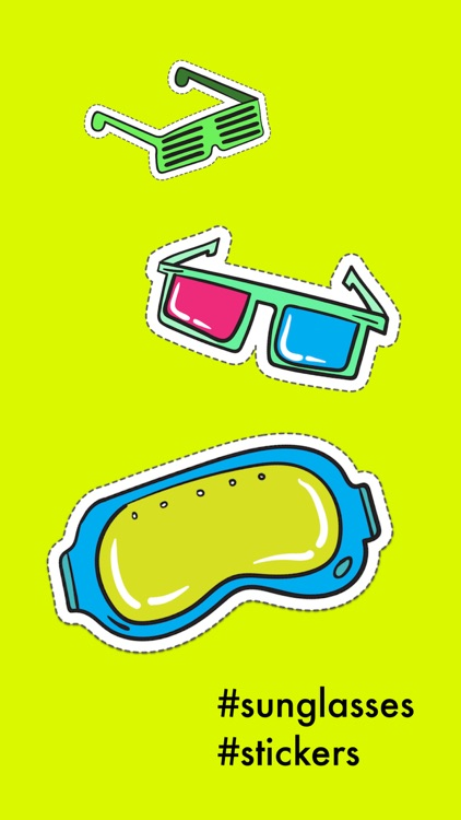 Sunglasses & Glasses Stickers