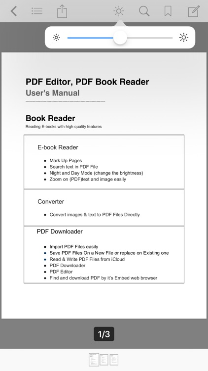 PDF Editor ,PDF Book Reader screenshot-4