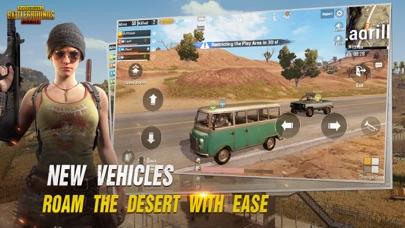 Screenshot of PUBG MOBILE App