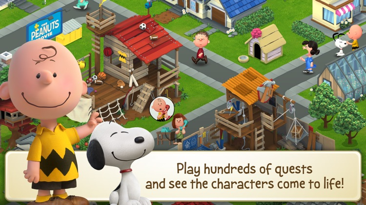 Peanuts: Snoopy's Town Tale screenshot-2