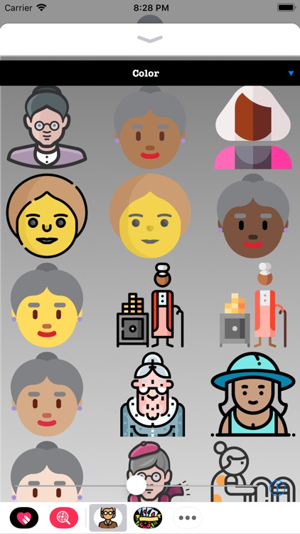 Old People HD Stickers