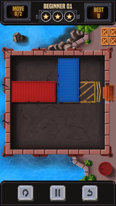 コンテナブロックパズルのブロックを解除するスクリーンショット2