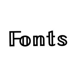 Fonts + Keyboard