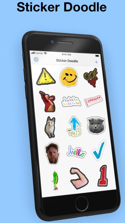 Sticker Doodle - draw stickers screenshot-0