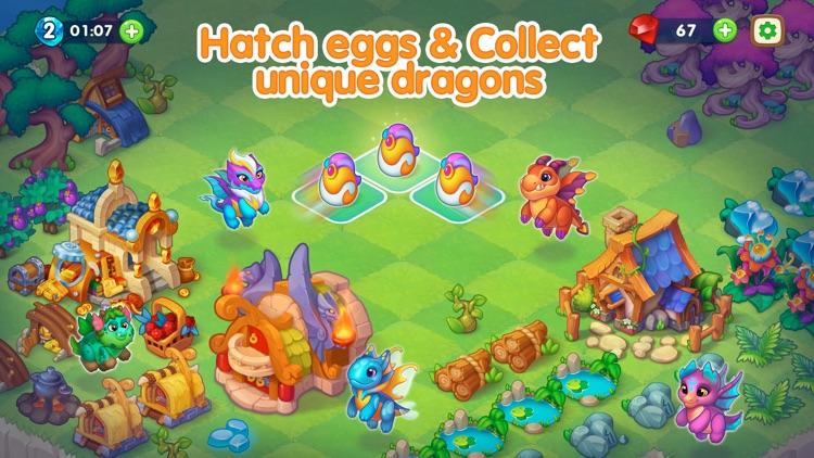 Dragon Magic - Merge games screenshot-3