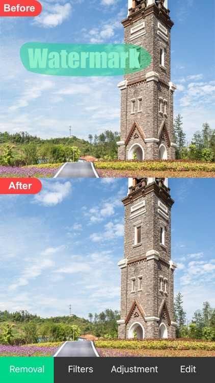 Object Removal - Retouch&Tunes