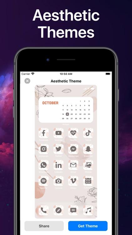 Widget Custom HomeScreen screenshot-4