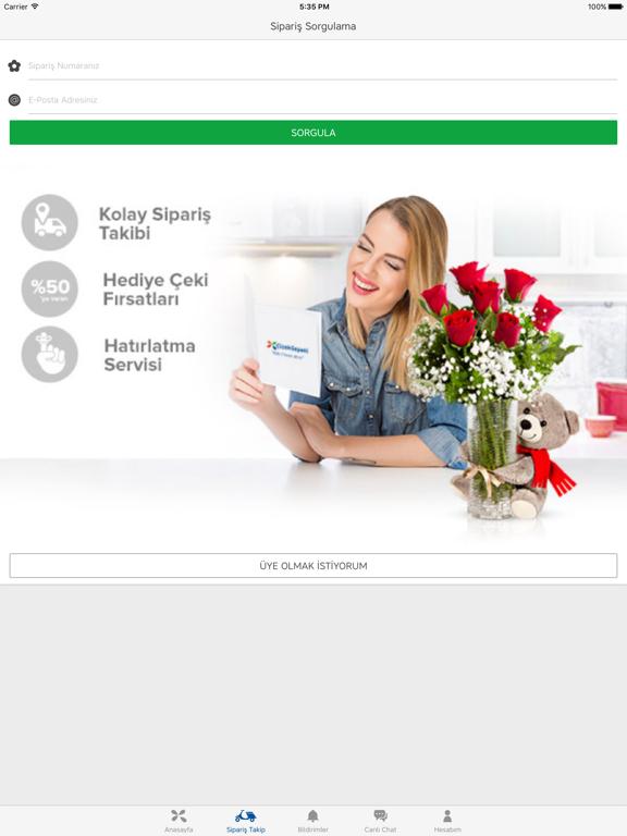 ÇiçekSepeti - Online Alışveriş ipad ekran görüntüleri